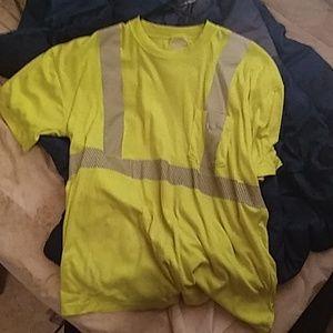 A old work shirt